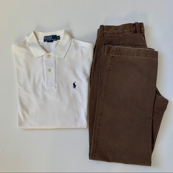 Polo by Ralph Lauren Other - Men's Polo by Ralph Lauren White Shirt Size M